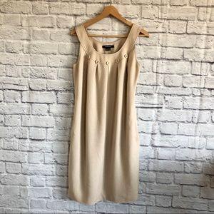 ELLEN TRACY Dress Button Detail & Pockets